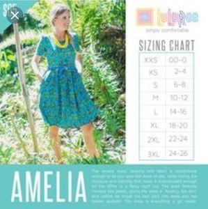 LuLaRoe Dresses - Elegant Collection Amelia
